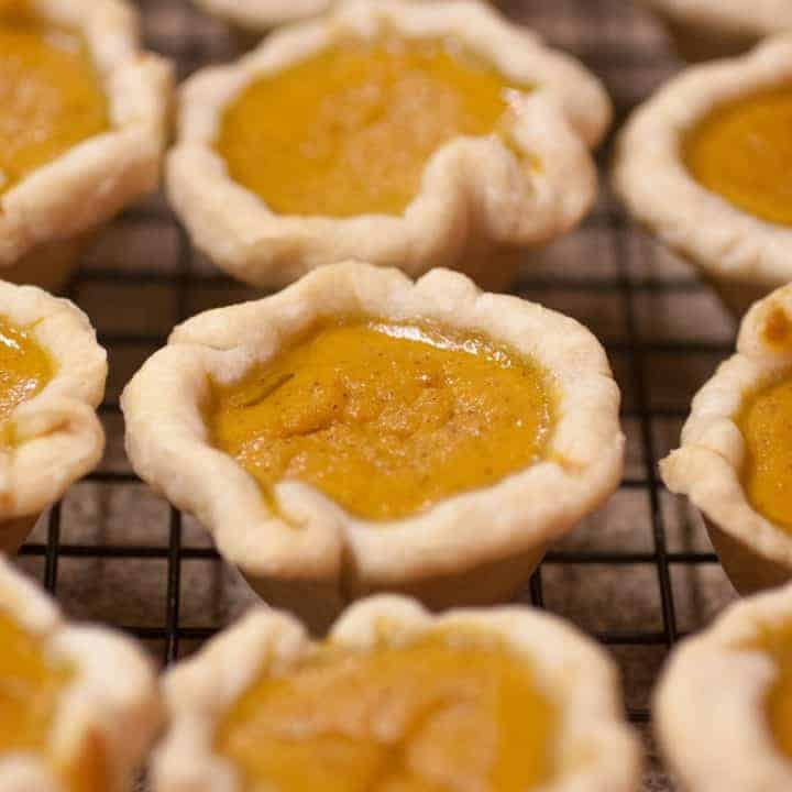 How to make Mini Pumpkin Pies Recipe for in muffin tins