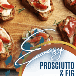 Easy Fig Appetizer recipe to make for a party