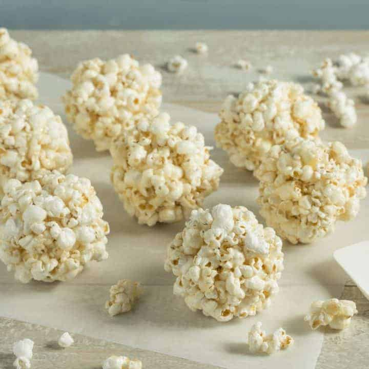 Old Fashioned Popcorn Ball Recipe How to make easy, old fashioned, traditional popcorn balls