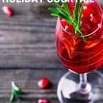 How to make a Rosemary Pomegranate Mimosa