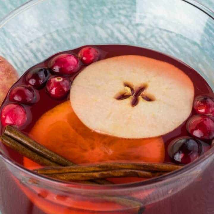 How to make Brandy Apple Punch