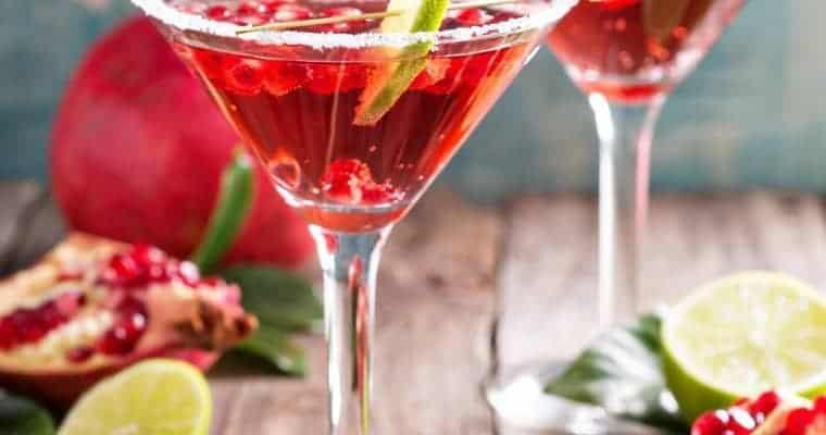 Easy Pomegranate Martini Recipe