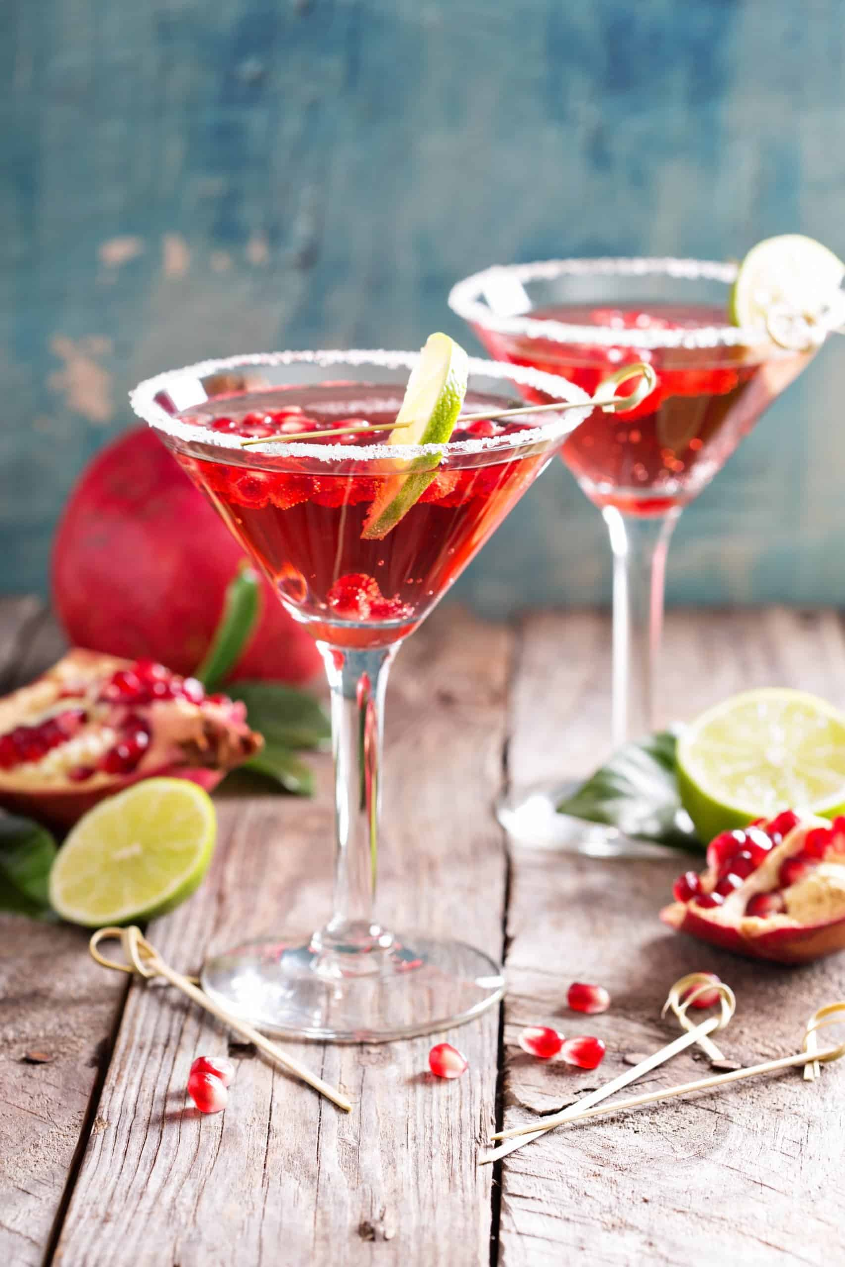 Easy Pomegranate Martini Recipe