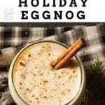 How to make a spiked eggnog holiday cocktail
