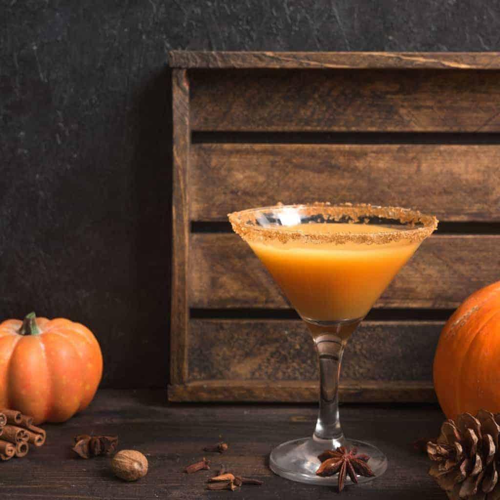 How to make a pumpkin pie flavored martini