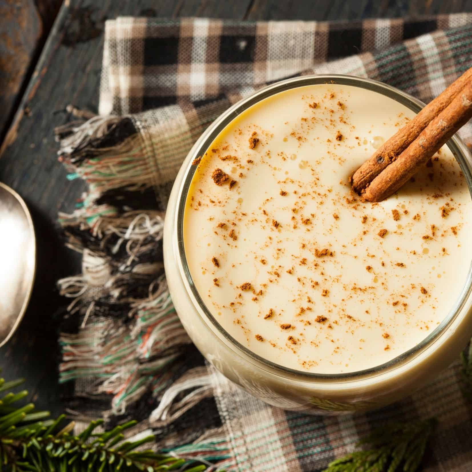 Bourbon Holiday Eggnog Recipe