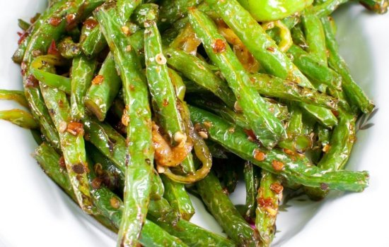 Sautéed Green Beans & Garlic