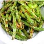 Recipe for Sautéed Green Beans & Garlic