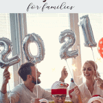 Party ideas for spending New Years Eve at home with your family.