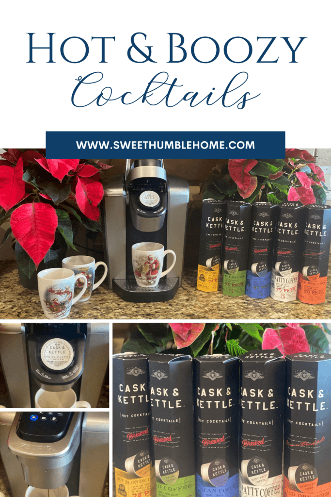 How to make Cask & Kettle hot and boozy holiday cocktails! #sponsored