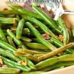 Recipe: Easy Green Beans & Garlic