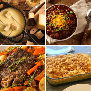 Easy meals to make for Christmas week. With recipes.
