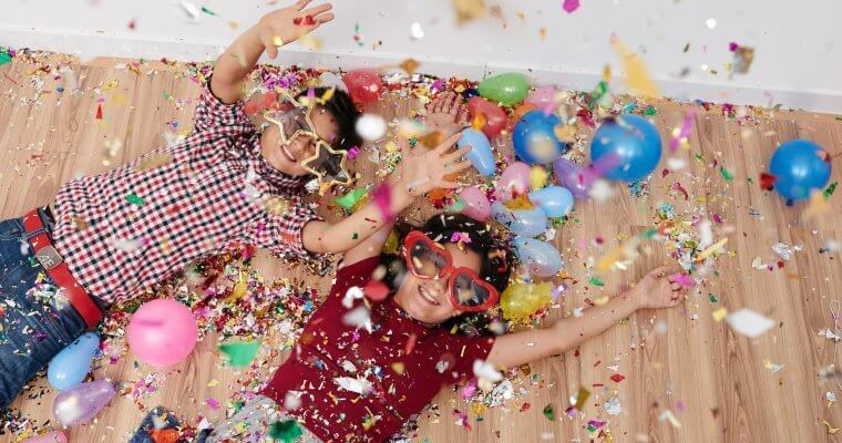 New Years Eve Party Ideas for Families