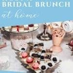 Steps to planning a bridal brunch