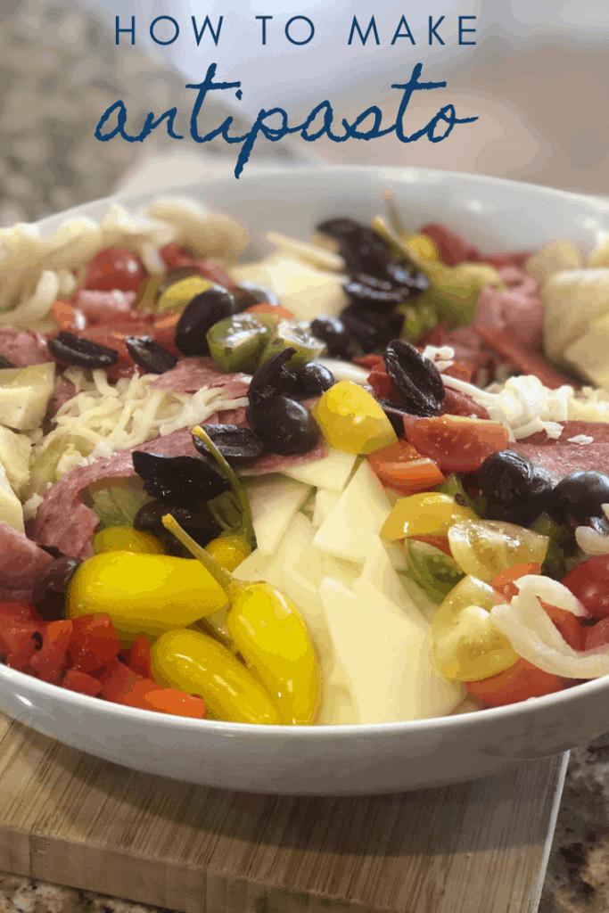 Picture of antipasto salad